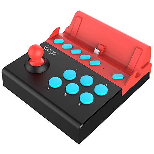 Adaskala Arcade Joystick für Nintendo Switch Gladiator Game Controller Joystick mit Turbo-Funktion