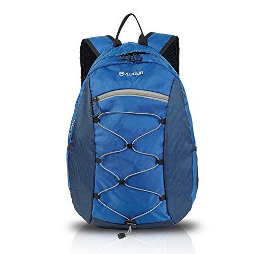 FANDARE Zaino per Computer Portatile MacBook Pro Tablet Notebook Laptop 15.6'' Viaggi Daypack School Scuola Borsa Escursionismo Alpinista Premium Alta Capacità Poliestere Blu