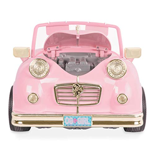 """Our Generation BD67051 In The Driver Seat Retro Cruiser Doll Accessories, Various, 18"""""""