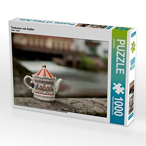 CALVENDO Puzzle Teekanne von Sadler 1000 Teile Lege-Größe 64 x 48 cm Foto-Puzzle Bild von silvimania