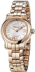 Happy Sport 18 CT Rose Gold 30mm Automatic Watch 274893-5003