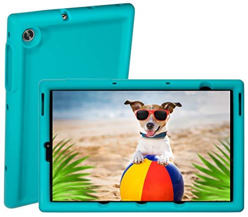 BobjGear Bobj Rugged Tablet Case for (25.7) Lenovo Tab M10 HD 2nd Gen 10.1 inch Models TB-X306F, TB-X306X Kid Friendly (Terrific Turquoise)