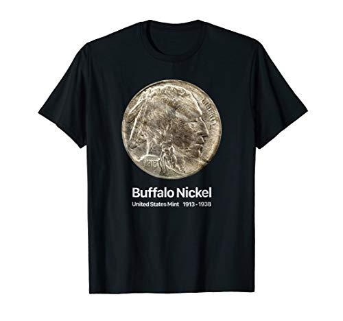 Coin Collector Buffalo Nickel T-Shirt