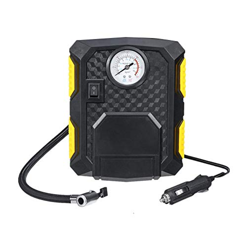 Inflador Neumaticos Hinchador Electrico Inflador automático de neumáticos Digital Herramienta de aire Inflador de neumáticos Pointer,One Size