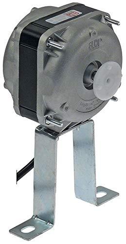 ELCO Motor de ventilador VN10-20/122 para Izmak PR-C153 NET3C10ZVN001, 5 opciones de fijación, ancho 83 mm, 1300/1550 rpm, 50/60 Hz, rodamiento de deslizamiento