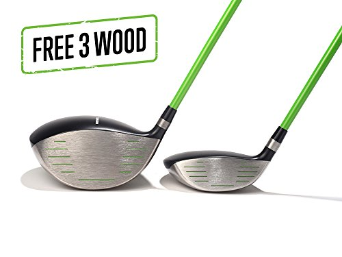 Grenade 2 Driver and Free 3 Wood (9, Stiff)