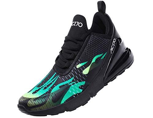 SINOES Laufschuhe Damen Sportschuhe Herren Turnschuhe Atmungsaktiv Freizeitschuhe Fitness Straßenlaufschuhe Mode Sneakers