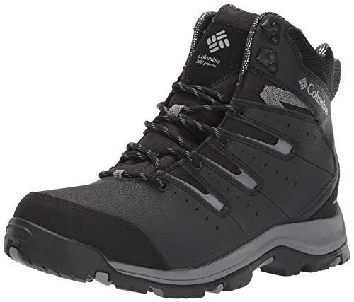 Columbia Men's Gunnison II Omni-Heat Snow Boot, Black, ti Grey Steel, 11 Regular US