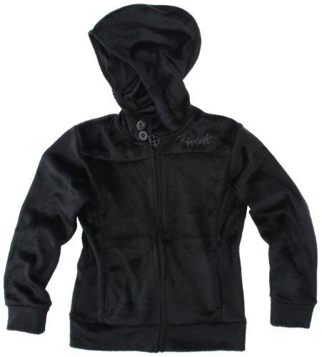 Protest Utopia Jr. Full Zip Hoody Veste à capuche zippée fille True Black FR : 16 ans (Taille Fabricant : 176)