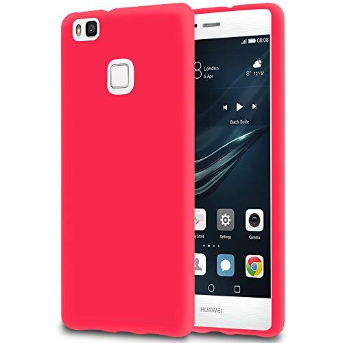 Handy-Hülle in Rot für Huawei P9 Lite | Ultra-Slim Mat Hülle
