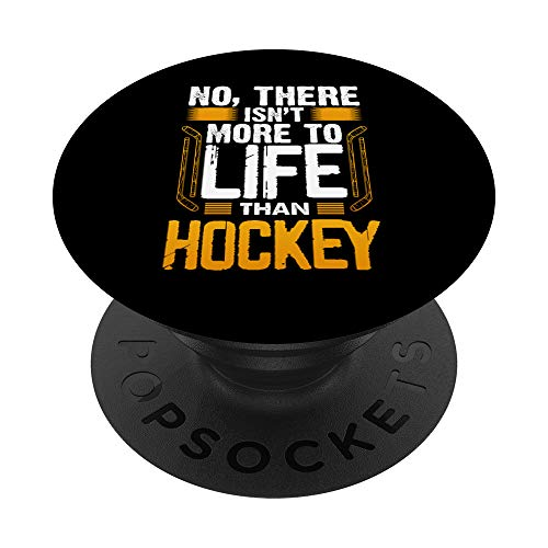 Camiseta divertida de jugador de hockey para hombre PopSockets PopGrip: Agarre intercambiable para Teléfonos y Tabletas