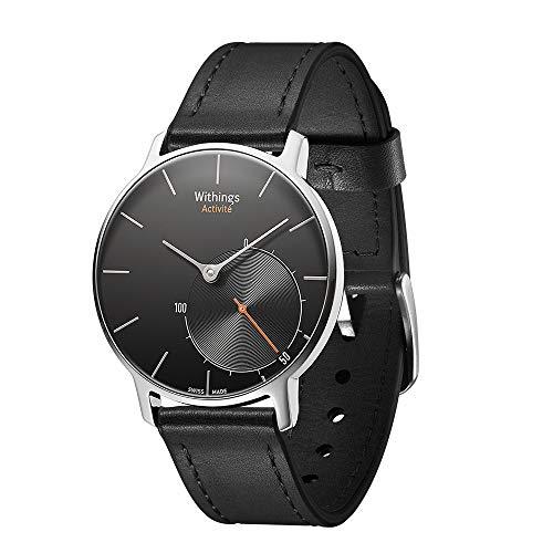 Originele Quick Release Lederen Vervangende Band Compatibel Michael Kors Toegang Runway Smartwatch (Zwart)