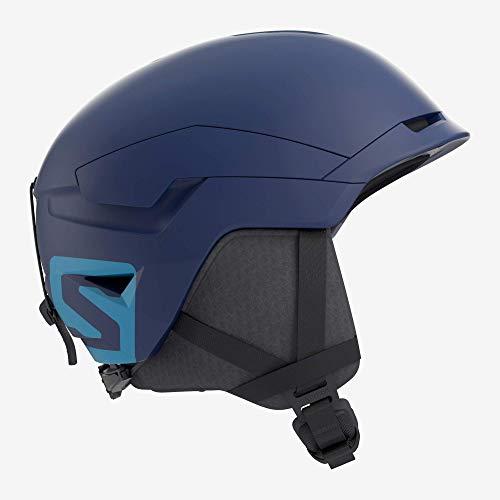 Salomon Herren Ski- und Snowboardhelm, EPS 4D-Innenschaum, Größe M, Kopfumfang 56-59 cm, Quest Access, blau (Dress Blue), L40535500