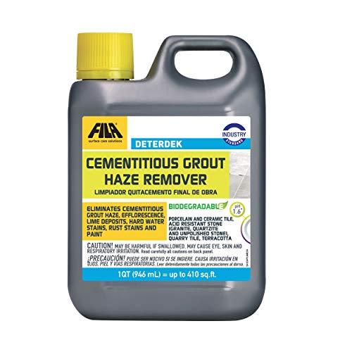 FILA Surface Care Solutions DETERDEK Cementitious Grout Haze Remover, 1 QT