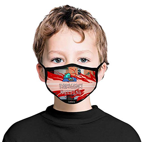 Boys Girls Emergency-Meeting Breathing Reusable Dust Protection Coverings