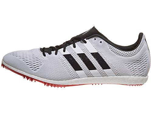 adidas Adizero Avanti Spike Shoe - Unisex Track & Field White/Core Black/Shock Red