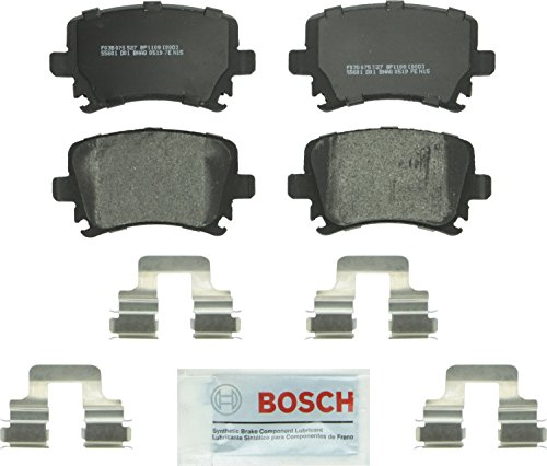 Bosch BP1108 QuietCast Premium Semi-Metallic Disc Brake Pad For: Audi: A3, A4, A6, TT; Volkswagen: CC, Eos, Golf, GTI, Jetta, Passat, R32, Rabbit, Tiguan, Rear