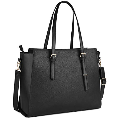 Laptop Bag for Women 15.6 Inch Waterproof Laptop Tote Bag...