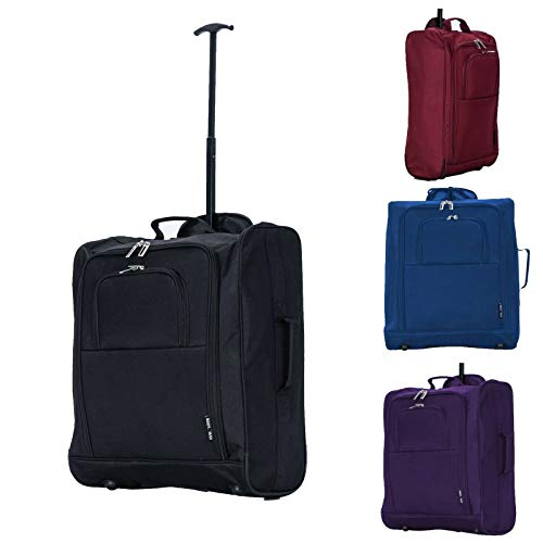 Easyjet, BA, Jet2 55x35x25cm Cabin Approved Case Suitcase Hand Luggage Carry on (Blue)