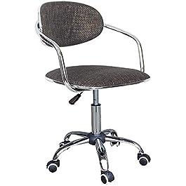 XWYJBD Chaises de bar chaise petit déjeuner comIf bureau/président du personnel/Tabouret de bar, design ergonomique…