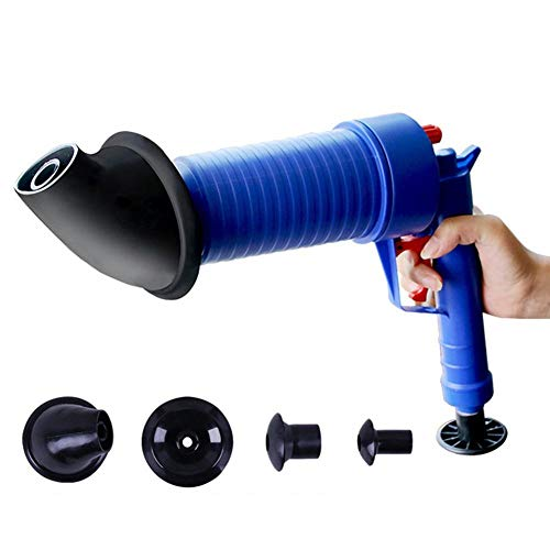 Dispositivo de dragado del tubo neumático, herramienta de drenaje de drenaje del suelo de la bañera, filtro de drenaje de la bomba de aire Blaster de potencia del aire p
