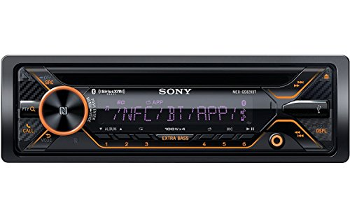 Sony MEXGS820BT GS, 160W Hi-Power, Variable Color, Dual BT, NFC, Songpal, Sxm, Dual USB, Dual AUX, 3 Pre 5V, EQ10, Extrabass, Aoa 2.0