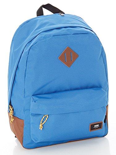 Vans Old Skool Plus Backpack Casual Daypack, 44 cm, 23 Liters, Delft/Toffee