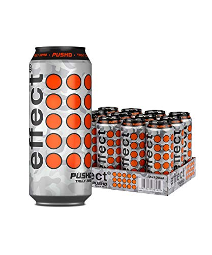 Effect Pushd Truly Zero Energy Drink, 12 x 0,5l Dose