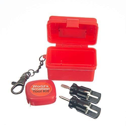 Funtime Gifts EG7920 World's Smallest Tool Kit, Multicoloured
