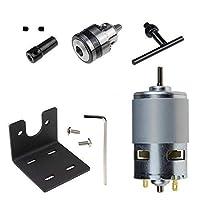 GUADANG DIY組み立てのためのミニチュアハンドドリルチャックと取付金具775モーター10000rpmでと12-24V旋盤プレス775モーター