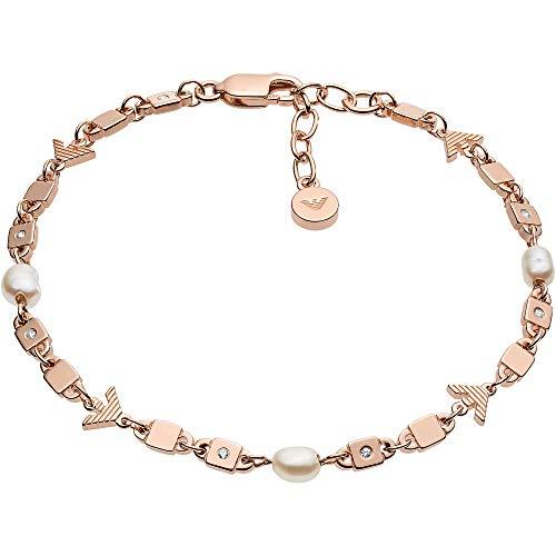 Emporio Armani Damen-Armband 925er Silber One Size Roségold 32012618