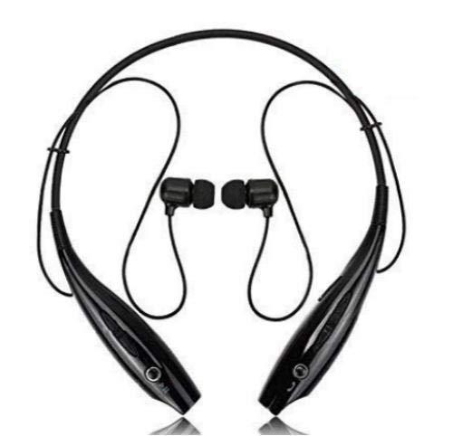 LIMTAS Pro MAX Wireless Bluetooth Earphone Headphone for Calling & Music Bluetooth Headphones,Wireless Sweatproof Attraction Headset Sports Jogger,Running,Gyming (Black)