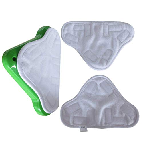 9 SACCHETTO IN MICROFIBRA SCOPA A VAPORE pavimento lavabile tamponi di ricambio per h2o h20 x5 UK