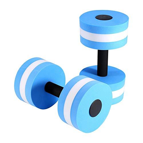 Ruiqas Wasser Aerobic Hantel 1 Paar Eva Aquatic Langhantel Aqua Widerstand Fitness-Schwimmbad Übung