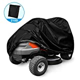 Lawn Mower Cover,Riding Lawn Tractor Cover 210D Waterproof Heavy Duty...
