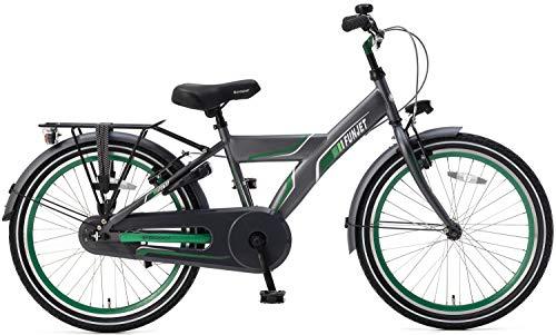 Unbekannt 22 Zoll Kinder Fahrrad Popal Funjet X 22178 ohne Schaltung, Farbe:grau-grün