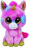 TY T99998 99998 Fantasia, Unicornio con Ojos Brillantes, Beanie Boo's, Peluche, Multicolor, 72 cm