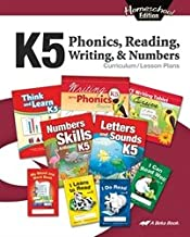 Homeschool K5 Phonics, Reading, Writing and Numbers Curriculum Lesson Plans