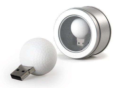 CEBEGO Golfball-Stick, USB Speicherstick Golfball, Golfball HUB Golfstick,Golfgeschenke Golfartikel 2 GB