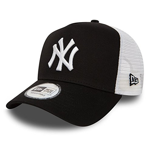 New Era Trucker Mesh Cap im Bundle mit UD Bandana NY Yankees Black - 2831