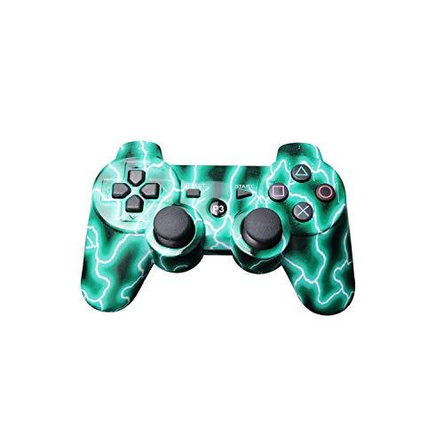 Contrôleur de jeu pour PC |Manette de jeu sans fil Bluetooth de couleur Mutil pour manette Ps3 Pro Manette de jeu Dualshock pour consoles Plastation3-A-