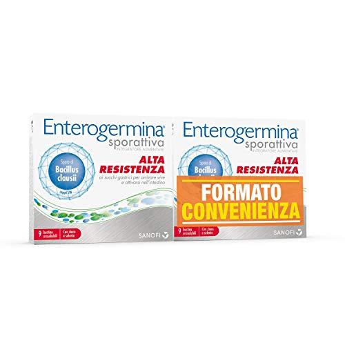 Enterogermina Sporattiva Integratore Alimentare per Favorire l'Equilibrio della Flora Intestinale,...