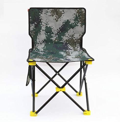 TTZY Chaise Pliante Extérieure Ultra-Légère Portable Camping Croquis Dossier Chaise Pliable Petit Tabouret Chaises De Pêche Kamp Sandalyesi, G Grand