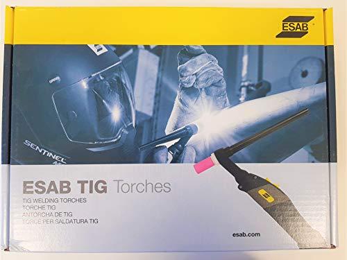 WIG-Brenner SR-B 26V ESAB passend Rogue ES 150-200 Pro, Ventilbrenner, Länge 4m, original ESAB 0700025522