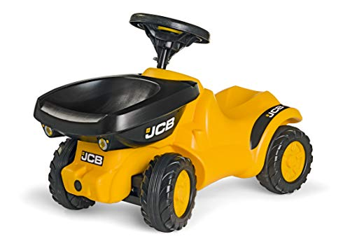 rolly toys | rollyMinitrac Dumper JCB | Minitrac Tractor with Squeaky horn and Tipping Dumper | 135646