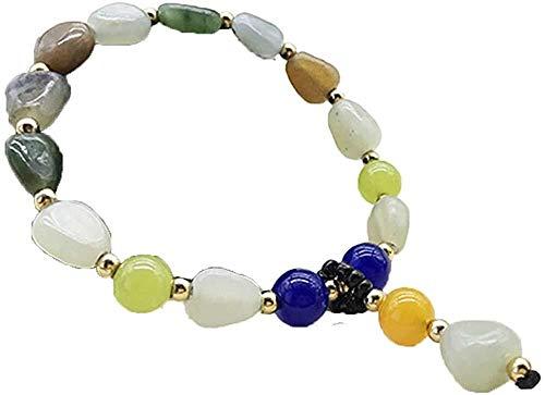 Collar de Moda para Mujer Natural Brazalete de Jade Blanco Jade Natural de Hombres y Mujeres Modelos y Pulsera de Jade de Color Tian Dubbo Izar