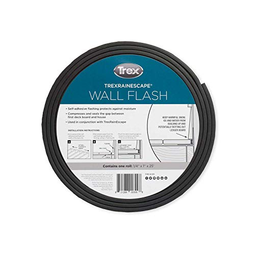 RainEscape Trex Wall Flashing 1/4' X 1' X 25'