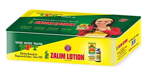 Zalim Lotion Lot de 40 boîtes en étain 10 ml