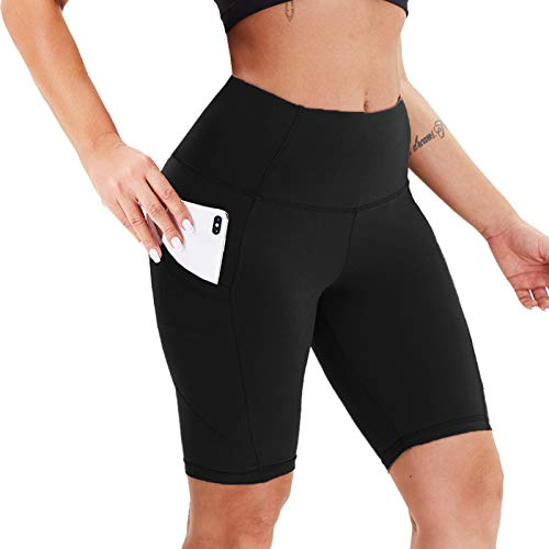 TWIOIOVE Damen Anti-Cellulite Yoga Slim Fit Hohe Taille Honeycomb Sportshort Hosen Yoga Pants Lauftraining Yoga Shorts Lässige Eng Anliegende Skinny Buttocks Lifting Fitness Leggings
