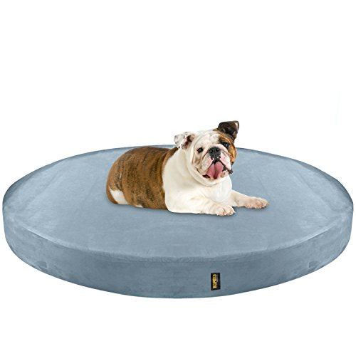 KOPEKS Deluxe Orthopedic Memory Foam Round Dog Bed